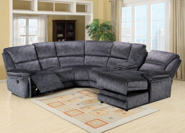2+C+1+CONSOLE + CHAISE - CHARCOAL