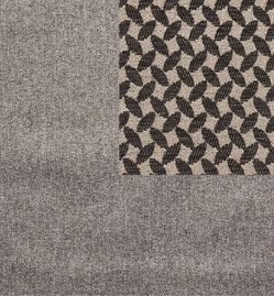 ECLIPSE TWEED GREY - TRELLIS CHARCOAL