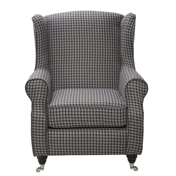 Fire Side Chair Brooks BLK