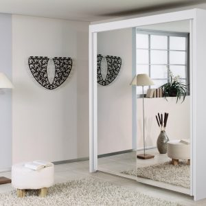 Imperial 2 Door Mirror and White