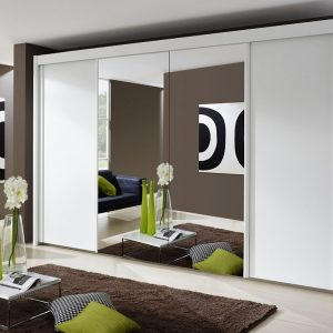 Imperial 2 Mirror and 2 Door White