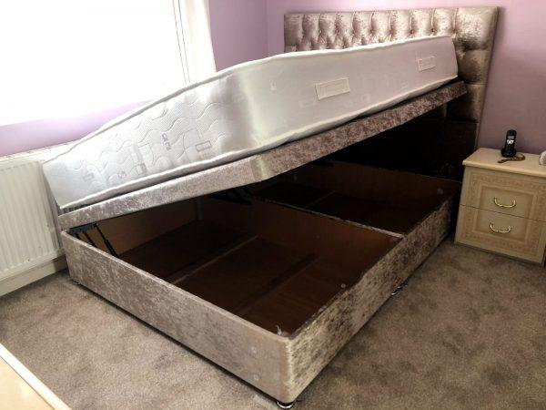 Divan Ottoman Side Lift Regal Furniture