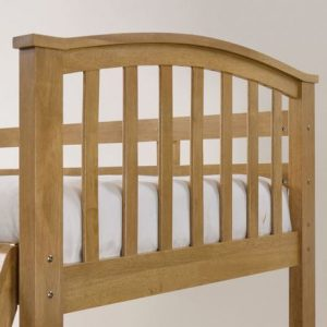 Artisan Arch Oak Bunk Bed Arch Close Up