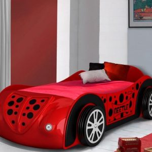 Beetle Red Car Bed