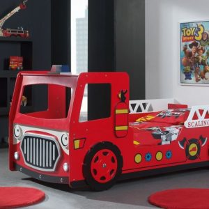 Fire Engine Car Bed 2