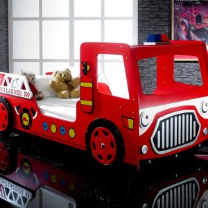 Fire Engine Car Bed