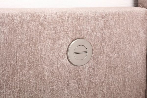 Mink Elephant Fabric Audio TV Bed Controls