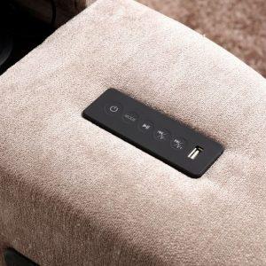 Mink Elephant Fabric Audio TV Bed Remote Controls