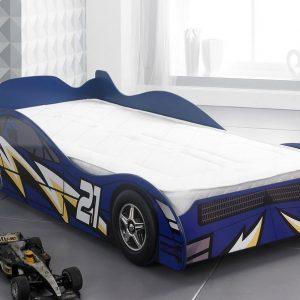 NO21 Racer Car Bed Blue