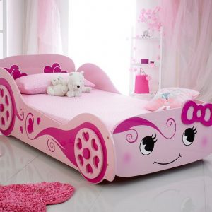 Pink Car Bed