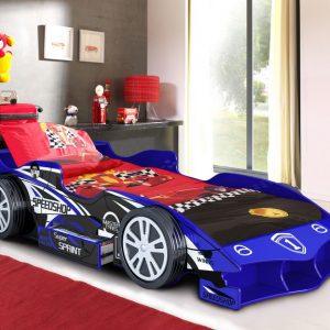 Speed Racer Car Bed Blue