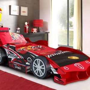 Speed Racer Car Bed Red